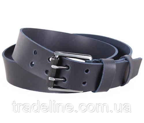 Мужской кожаный ремень Dovhani SP999-255 115-125 см Синий, фото 2
