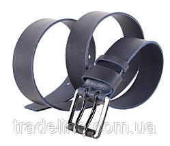 Мужской кожаный ремень Dovhani SP999-255 115-125 см Синий, фото 3