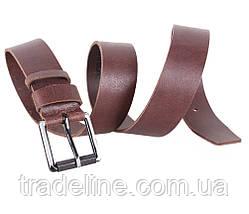 Мужской кожаный ремень Dovhani SP999-277 115-125 см Коричневый, фото 3