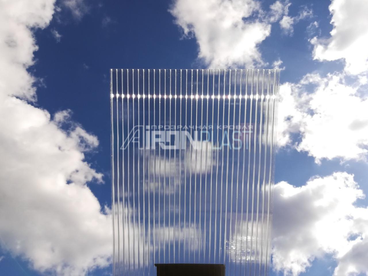 Поликарбонат сотовый SUNLITE Twin-Wall 6 mm Clear прозрачный