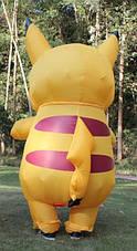 Надувной костюм Пикачу для взрослого Pikachu, фото 2