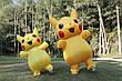 Надувной костюм Пикачу для взрослого Pikachu, фото 4