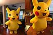 Надувной костюм Пикачу для взрослого Pikachu, фото 3