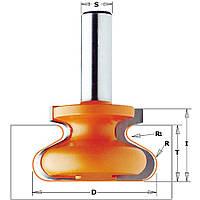 Фреза мультипрофильная для скрытых мебельных ручек CMT 38,1х20,7х6 мм хв.8мм (арт.955.103.11)