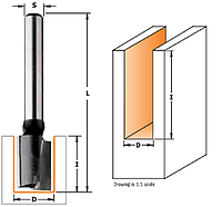 Фреза пазова пряма CMT 12х35мм хв.12мм (арт. 177.120.11)