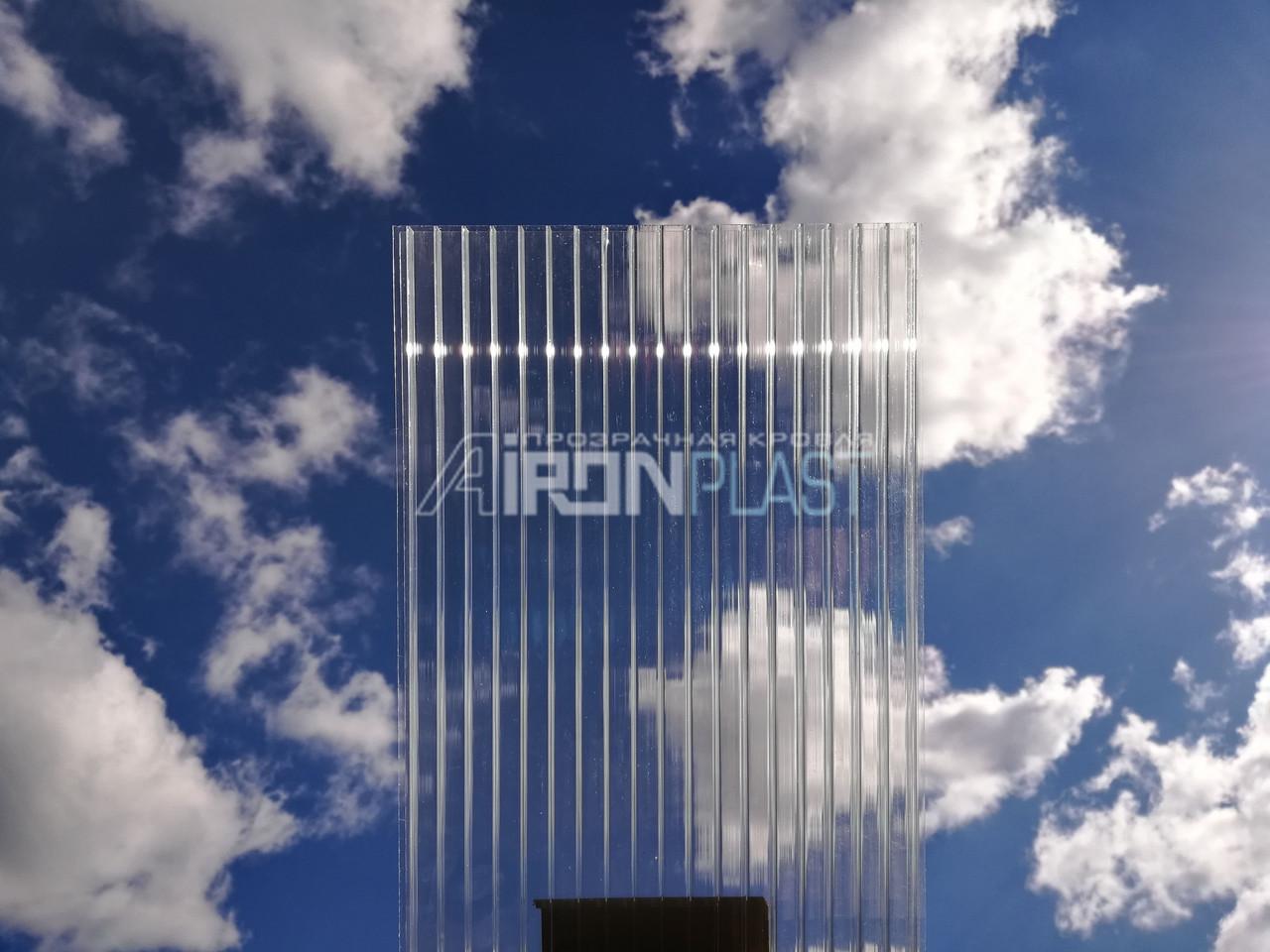 Поликарбонат сотовый CARBOGLASS Crystal 8 мм прозрачный