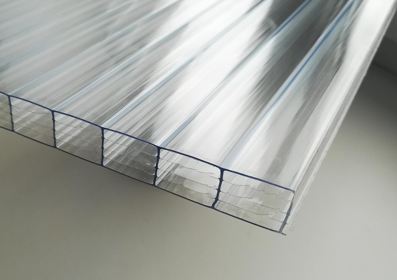 Поликарбонат сотовый CARBOGLASS Crystal 16 мм прозрачный