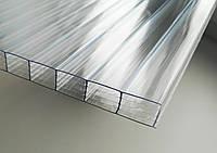 Поликарбонат сотовый CARBOGLASS Crystal 16 мм прозрачный, фото 1