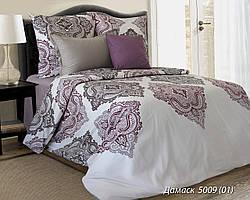 Комплект постельного белья полуторный  ДАМАСК ( нав. 50*70)