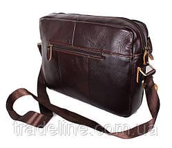 Мужская кожаная сумка A4 Dovhani Bon3923-2541 Ш36хВ25хГ10см Коричневая, фото 3