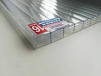 Поликарбонат сотовый CARBOGLASS Premium 16 мм прозрачный, фото 1