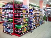 Стеллажи для магазинов. Мебель торговая для магазинов. Стеллаж торговый WIKO Киев, Одесса, Львов, фото 1