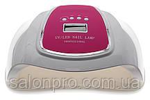 UV LED Nail Lamp 72 Plus Вт для сушки геля и гель-лака (малиновый верх)
