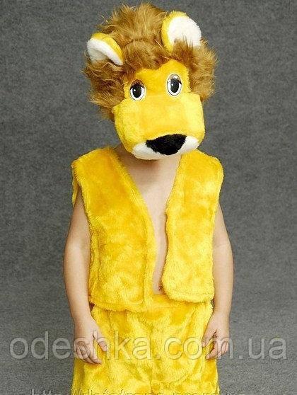 Дитячий карнавальний костюм Левеняти