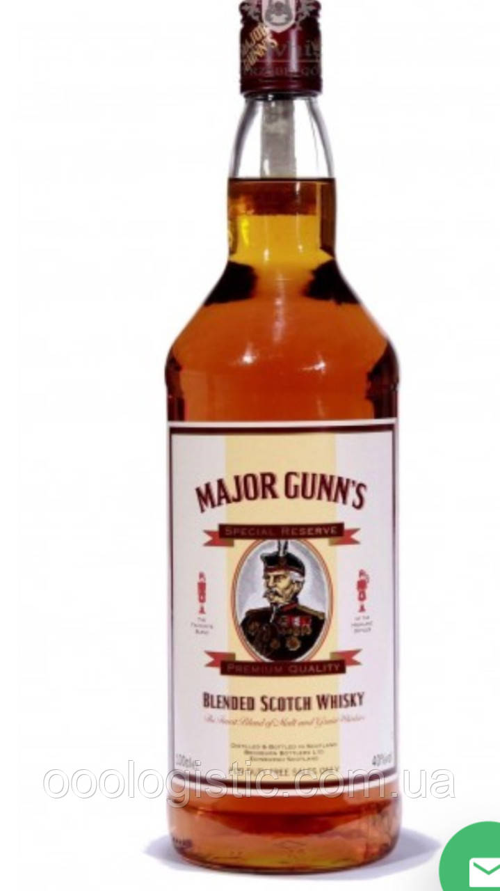 Виски Major Gunn's Special Reserve 1 литр