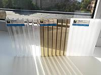 Поликарбонат сотовый двухкамерный SUNLITE Triple-Wall 3H 16 mm Clear (прозрачный), фото 1