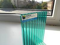 Поликарбонат сотовый Sunlite Twin-Wall 10 mm Green