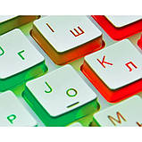 Клавиатура REAL-EL Comfort 7070 Backlit USB белая с подсветкой уценка, фото 5