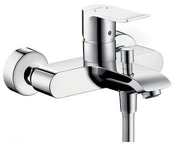 Смеситель для ванны Hansgrohe Metris однорычажный