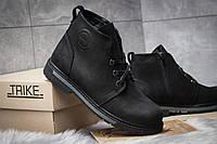 Мужские зимние ботинки на меху Trike, черные