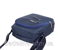 Сумка мужская Nobol M6339-2BLUE4 Синяя В22 хШ22 х Д8см, фото 3
