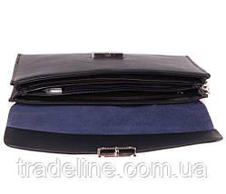 Клатч мужской кожаный Norton 3071919 Синий, фото 2