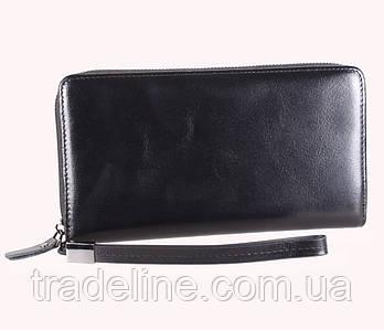 Клатч мужской кожаный Dovhani BLACK001-223 Черный