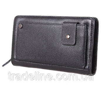 Клатч мужской кожаный Dovhani BLACK003-335 Черный