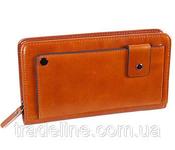 Клатч мужской кожаный Dovhani WHEAT003-5558 Рыжий