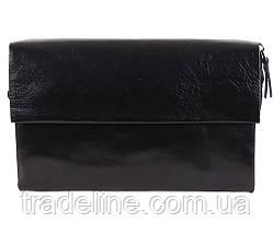 Клатч мужской кожаный Dovhani BLACK004-29 Черный, фото 2