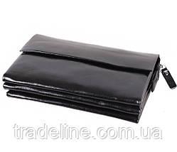 Клатч мужской кожаный Dovhani BLACK004-29 Черный, фото 3