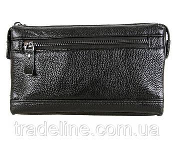 Клатч мужской кожаный Dovhani BLACK005-35 Черный