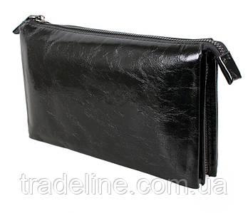 Клатч чоловічий шкіряний Dovhani BLACK006-154 Чорний