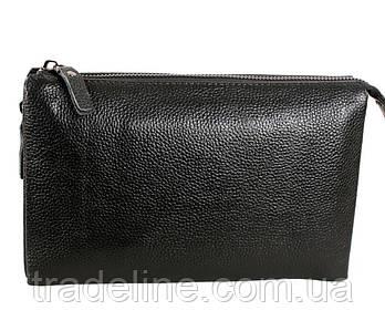 Клатч чоловічий шкіряний Dovhani BLACK006-359 Чорний