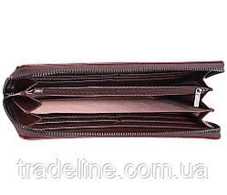 Клатч мужской кожаный Dovhani COFFEE002-404 Бордовый, фото 3