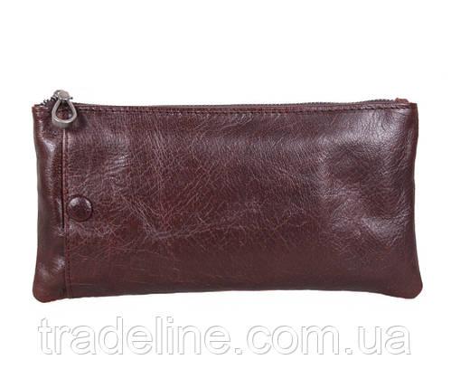 Клатч мужской кожаный Dovhani LA8015-2DBL2 Коричневый, фото 2