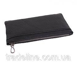 Клатч мужской кожаный Dovhani LA8015-3BL3 Черный, фото 3