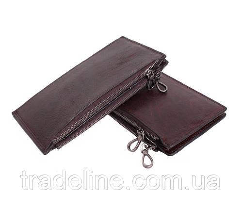 Клатч мужской кожаный Dovhani LA9852-1DBL1 Коричневый, фото 2
