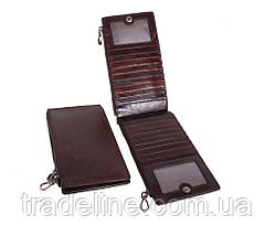 Клатч мужской кожаный Dovhani LA9852-1DBL1 Коричневый, фото 3