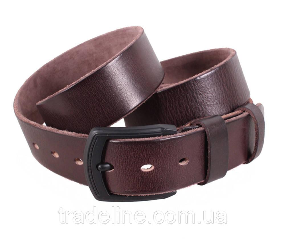 Мужской кожаный ремень Dovhani BUFF000-505 115-130 см Коричневый