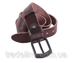 Мужской кожаный ремень Dovhani BUFF000-505 115-130 см Коричневый, фото 2