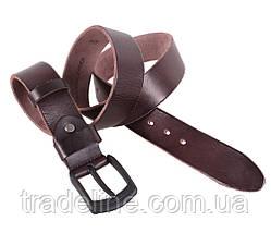 Мужской кожаный ремень Dovhani BUFF000-505 115-130 см Коричневый, фото 3