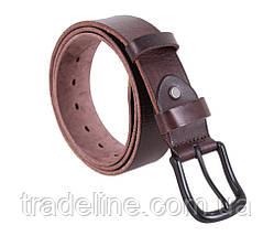 Мужской кожаный ремень Dovhani BUFF000-9999 115-130 см Коричневый, фото 2