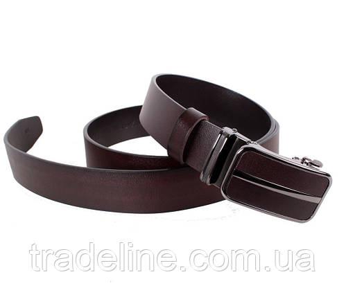 Мужской кожаный ремень Dovhani MGA101-2255 105-125 см Коричневый, фото 2