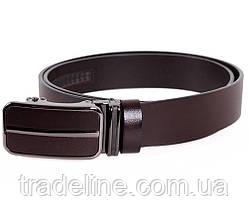 Мужской кожаный ремень Dovhani MGA101-2255 105-125 см Коричневый, фото 3
