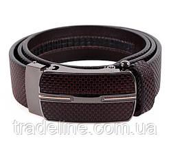 Мужской кожаный ремень Dovhani MGA101-1313 105-125 см Коричневый, фото 2