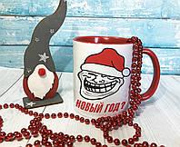 """Чашка """"Новый год"""" / друк на чашках / печать на чашке"""