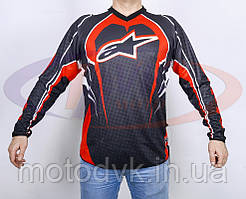 Джерси для мотокросса Alpinestars QX-011, размер  L