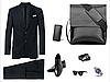 Мужская сумка через плечо Polo Videng Барсетка Сумка-планшет Клатч Baellerry Business в Подарок, фото 3