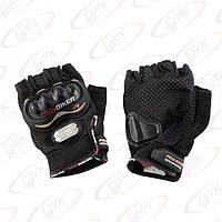 Мотоперчатки Pro-Biker без пальцев черные, размер L, (MCS-04)